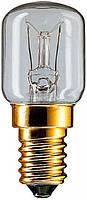Лампа накаливания для духовки App 15w E14 T25 CL OV 300*C PHILIPS