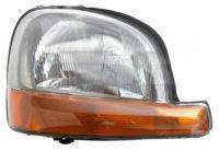 Фара передняя правая Kangoo до 2008г (с длинным желтым поворотником). 7701044038,086670,86670