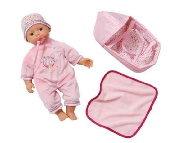 Кукла пупс Беби Борн c переноской и одеялом My Little Baby Born Zapf Creation 820322