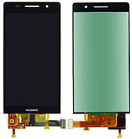Дисплей (LCD) Huawei P6-U06 with touch screen black