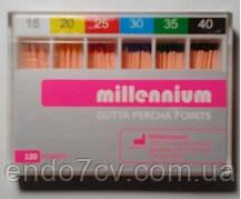 Millennium штифты гуттаперчевые 06
