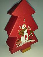 "Новогодняя подарочная коробочка ""Елочка"""