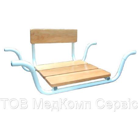 Сидіння для ванни MEDOK поглиблене зі спинкою