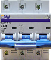 Выключатель автоматический ВА 2001  6 А 3р