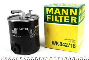 Фильтр топливный Sprinter + Vito CDI (с подогревом) Германия - MANN-FILTER