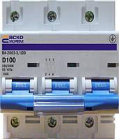 Выключатель автоматический ВА 2001  10 А 3р