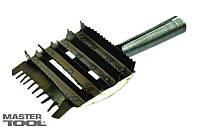 Чесало для скота с гребенкой 240 *130 мм  Mastertool 92-0175