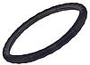 Чехол для руля 396 M черного цвета, перфорированная кожа