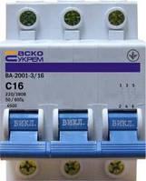 ВА 2001  25 А 3р Автоматические выключатели