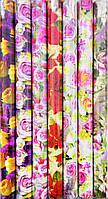 Подарочная бумага женская (цветы)