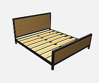 Металлическая кровать КP-TL 2