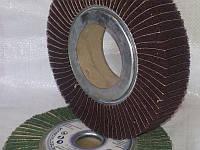 Круг лепестковый комбинированный из нетканого шлифовального полотна