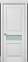 """Двери межкомнатные Папа Карло """"Milenium ML-13 бевелс"""" ясень белый"""