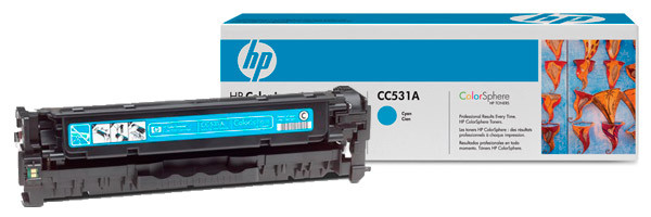 Заправка картриджа НР CLJ CM2320NF/ 2320FXI/ CP2025DN/ CP2025N Cyan (CC531A)