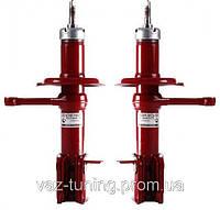 Стойки (амортизаторы) передней подвески ВАЗ 2110 ДЭМФИ ПРЕМИУМ под заниженые пружины -30мм