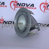 Светильник потолочный BRILUX 820 мат.-серебр., IP20 (без ПРА и ЗУ)
