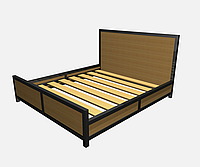 Кровать металлическая КP-TL 3