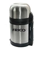 Термос пищевой FRICO FRU-234: 1 л, ручка для переноски, пиала и чашка, держит температуру 24 ч