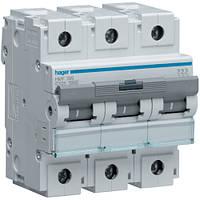 Автоматический выключатель 100А 3p C 10кА HLF390S Hager