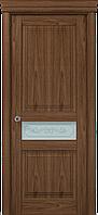 """Двери межкомнатные Папа Карло """"Milenium ML-13 бевелс"""" орех"""