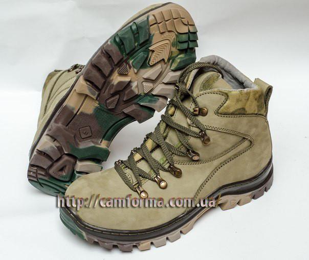 Тактические ботинки ОЛИВА зима