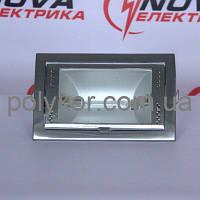 Светильник потолочный BRILUM 8100 хром сатин