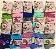 Носки женские Цветы 37-42 Хлопок