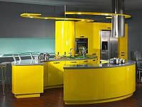 Круглая кухня-остров