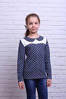Стильная кофточка-блуза для девочки