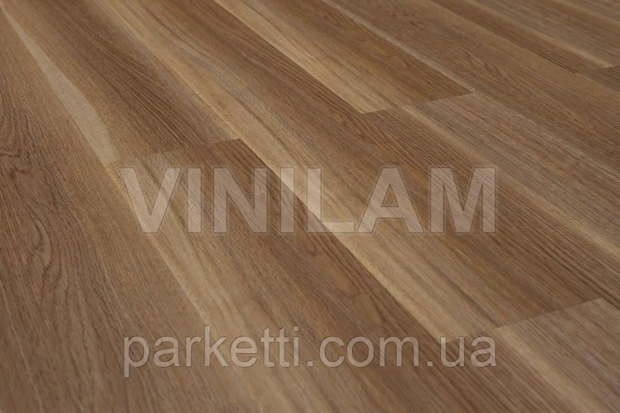 Vinilam 62712 Дуб Дзезден Click Hybrid виниловая плитка