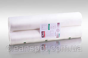 Бумажные медицинские простыни в рулонах 50м 2-х слойные супербелые 70см Eco Point