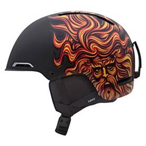 Горнолыжный шлем Giro Battle, чёрный Santa Cruz Sungod (GT)