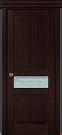 """Двери межкомнатные Папа Карло """"Milenium ML-13 бевелс"""" венге"""