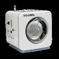 Портативная радио колонка MINI MP3 WS-908RL, FM, USB, SD