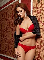 Красный женский комплект нижнего белья Anabel Arto