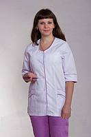 Батистовый женский медицинский костюм больших размеров