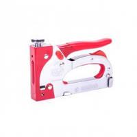 Intertool RT-0201 Механический степлер скоба 11.3 х 0,70 х 4-14 мм обрезиненная рукоять Professional