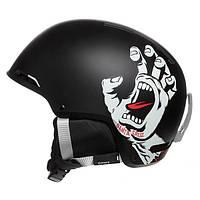 Горнолыжный шлем Giro Battle, чёрный Santa Cruz Screaming Hand (GT) L