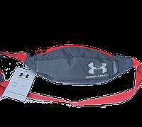 Поясна сумка Under Armour (сіра) сумка на пояс, фото 1