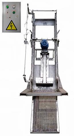РГР решетка механическая грабельная рейкового типа из нержавеющей стали, фото 2