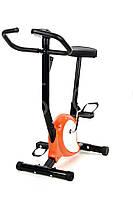 Механический велотренажер (оранжевый) + Бесплатная доставка, фото 1