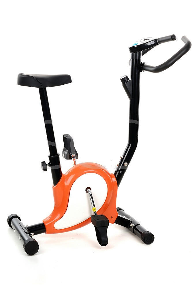 Механический велотренажер (оранжевый)