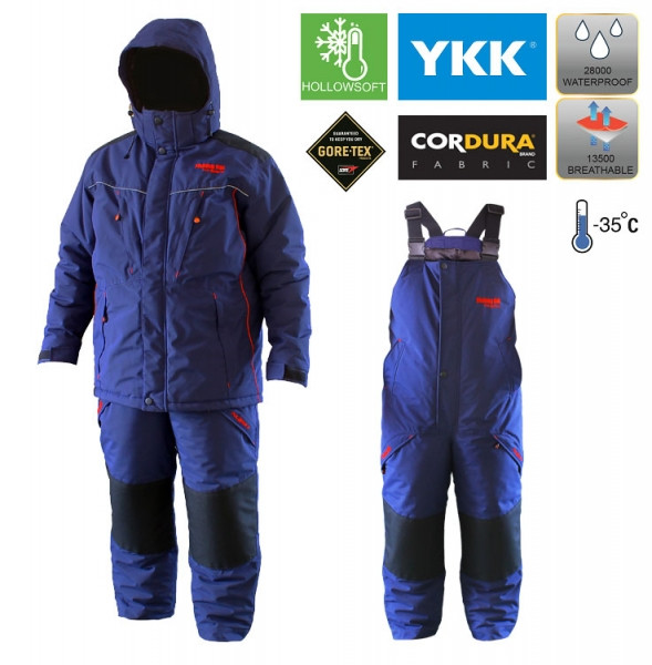"""Зимний мужской костюм для рыбалки """"Fishing ROI ― Polaris 3"""""""