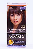 Крем - краска для волос GLORIS MINI 4.56 Натуральный кофе