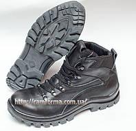 Тактические ботинки  ПУМА  глянец кожа зима