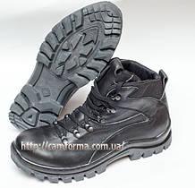Тактичні черевики ПУМА глянець шкіра зима