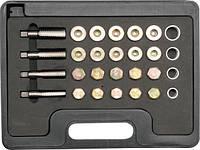 YATO Набір обладнання для ремонту оливних пробок; 64 елем.