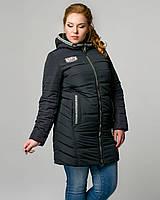 Куртка женская демисезонная удлиненная, фото 1