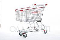Тележки торговые для супермаркетов 240 литров
