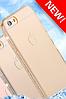 Силиконовый золотой чехол с камнями Сваровски для Iphone 6 6S